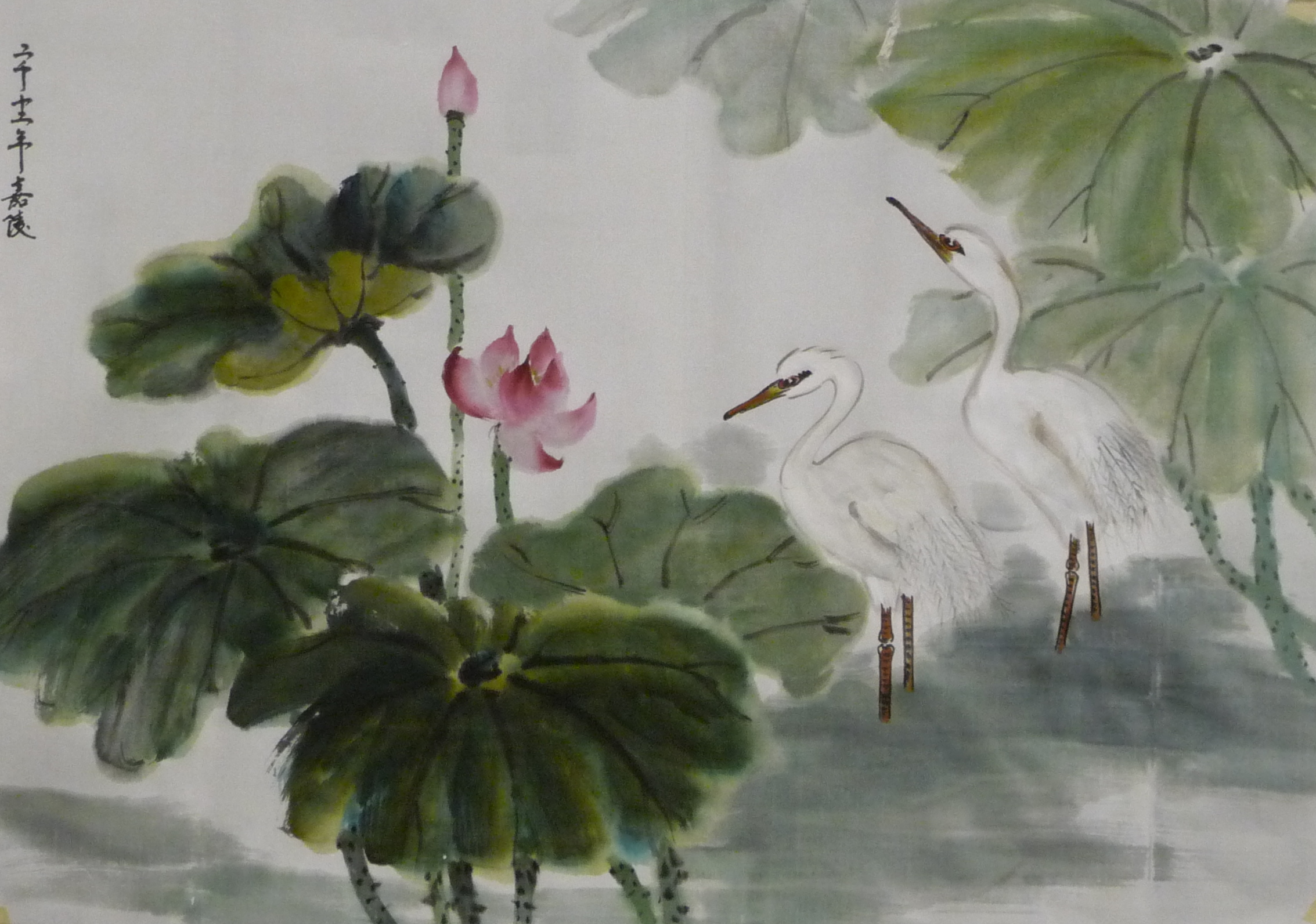 Demo Painting 2011 2012 谭嘉陵 Chinese Traditional Brush Painting