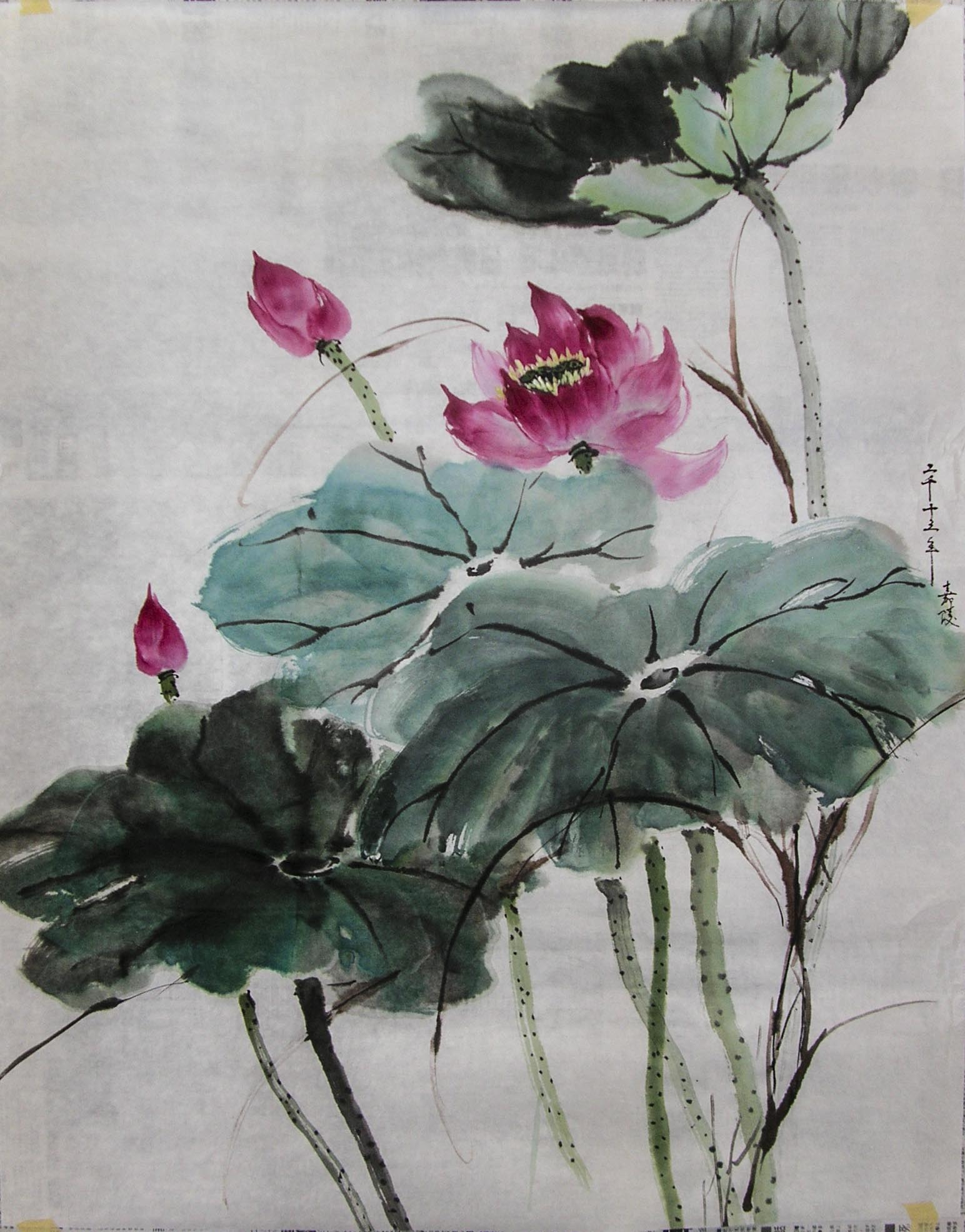 Demo painting 2013 chinese traditional brush painting izmirmasajfo