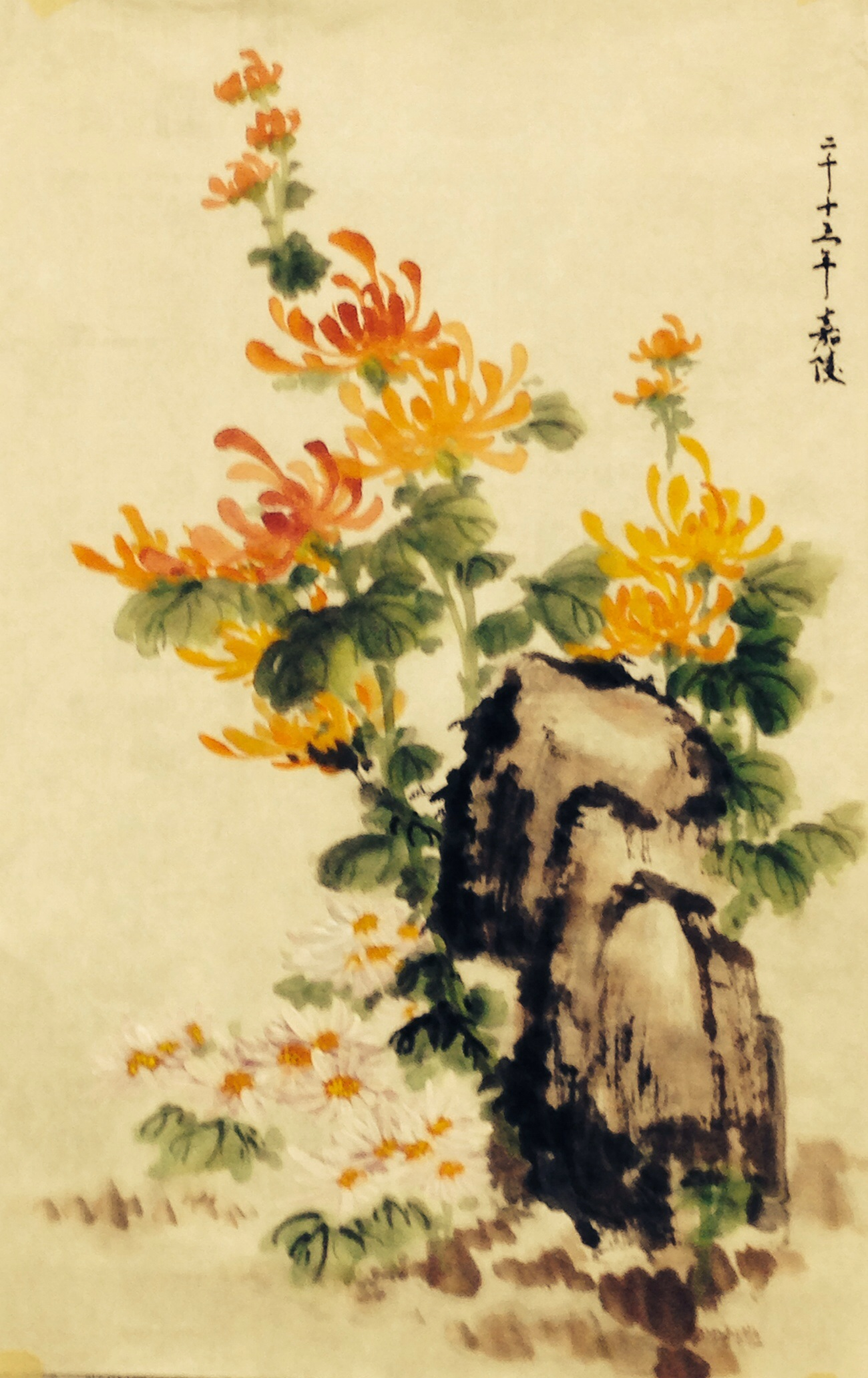 Demo Painting 2013 - 谭嘉陵 Chinese Traditional Brush Painting