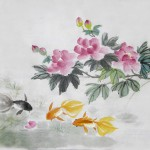 2016-12-11 Hibiscus and gold fish