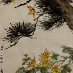 2017-5-21 pine and chrysanthemum