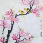2018-6-3 peach blossom